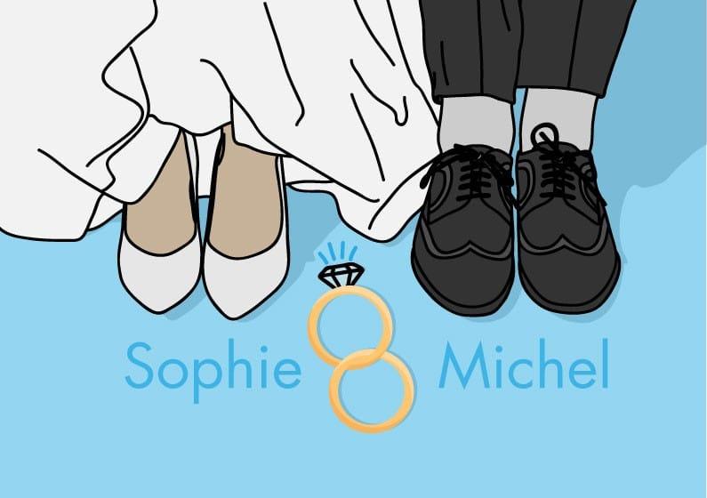Interview mit Sophie & Michel